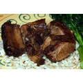 Pork Ribs (Country Style, Separable Lean And Fat, Braised)